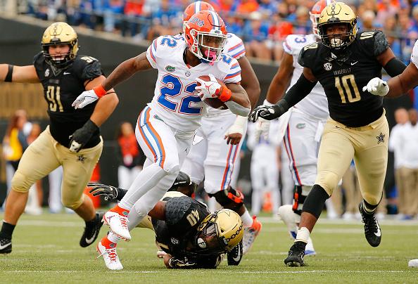 Florida Claws Back To beat Vanderbilt 37-27
