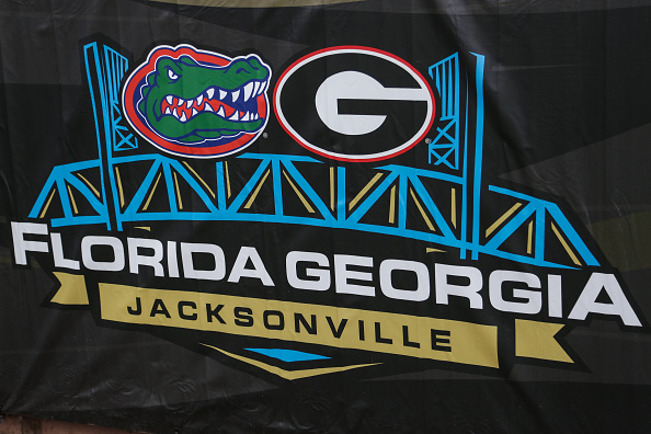 The Florida Gators Take On The Georgia Bulldogs