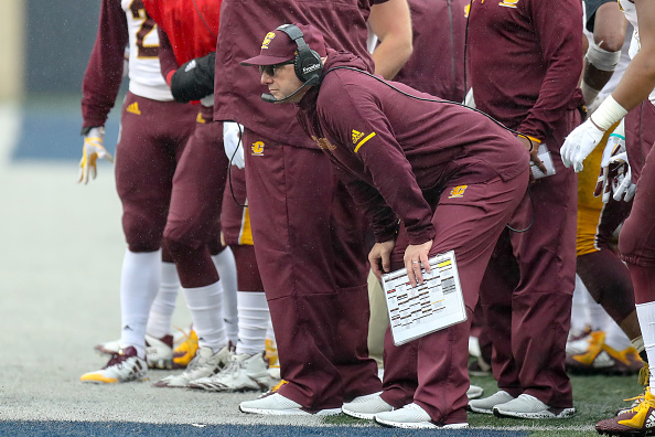 John Bonamego Is Out As Central Michigan Head Coach