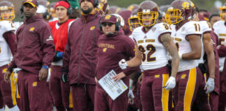 Late Season Bye Week Can Help Central Michigan