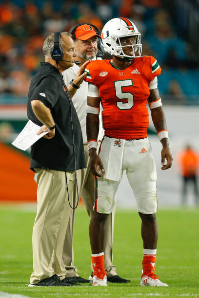 finest selection 0d6c8 dcaf4 2018 Miami Hurricanes Offense Season Review - Last Word on ...