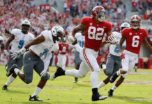 Tide defeat The Citadel and the triple-option offense 50-17
