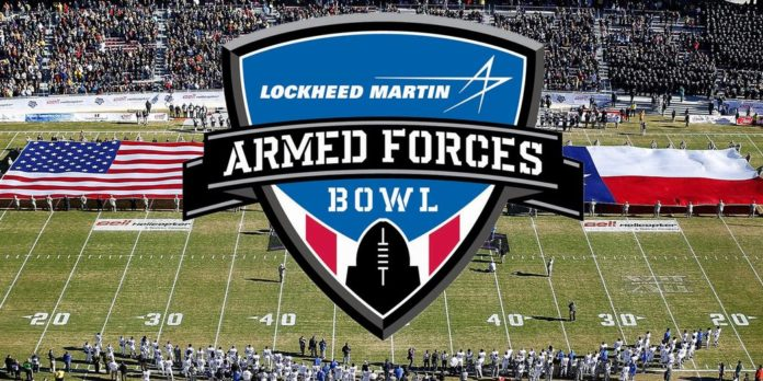 Lockheed Martin Armed Forces Bowl Houston Cougars Army Black Knights