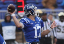 duke handled temple in independence bowl