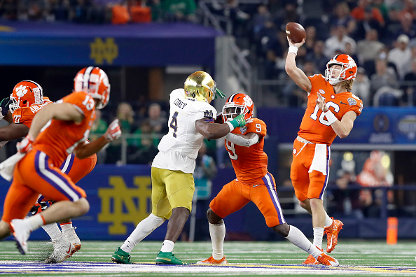 clemson reaches the college football playoff championship
