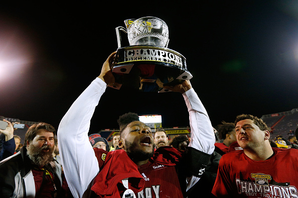 Troy Defeats Buffalo 42-32 In Dollar General Bowl