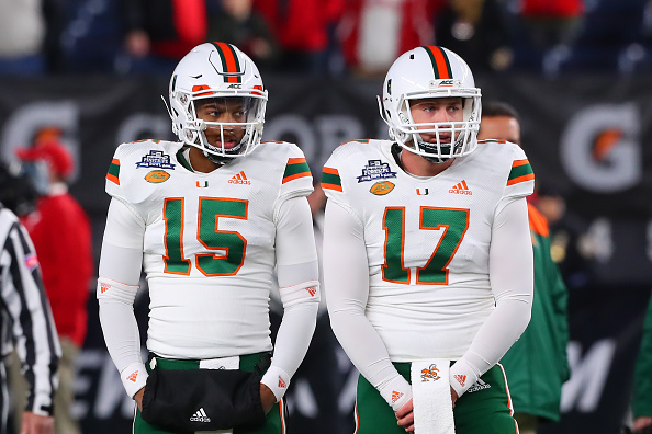 Miami Hurricanes Quarterbacks