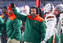 Miami Hurricanes Coaching Staff