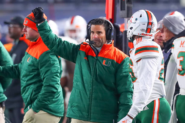 Manny Diaz Working Hard