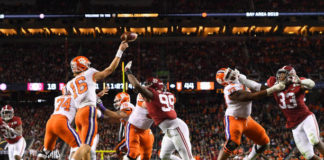 Pass rushers for Alabama Crimson Tide in 2019