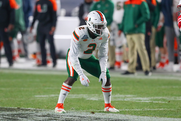 hot sales 47bc2 5d620 Inexperienced Miami Hurricanes Secondary In Familiar ...