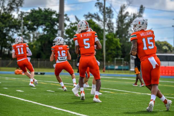 Miami Hurricanes Quarterback Battle