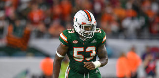 Miami's Senior Linebackers