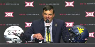 Coach Brown At Big XII Media Days