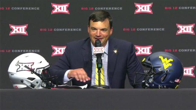 Coach Brown At Big XII Media Days
