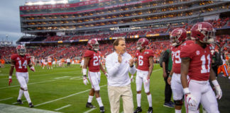 Preseason rankings for Alabama