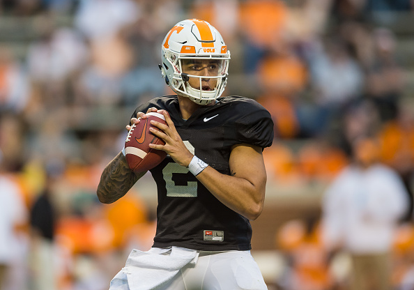 Tennessee Vols Projected Starting Offense - Last Word on ...