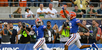 Gators Survive Against Hurricanes