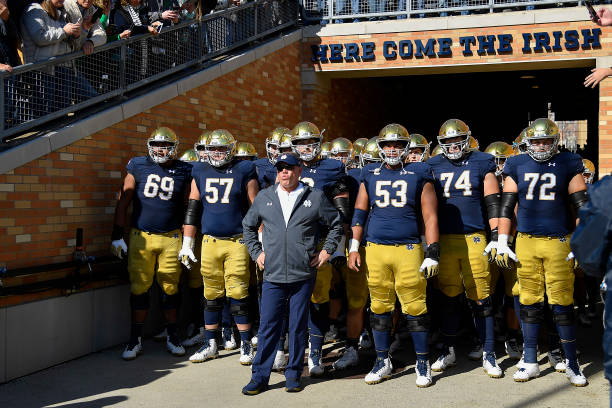 Notre Dame beat Florida State on Saturday 42-26 utilizing a balanced rushing and passing attack. It didn't start pretty, but it ended well.