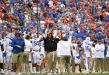 Top Five Coaches on Florida's Staff