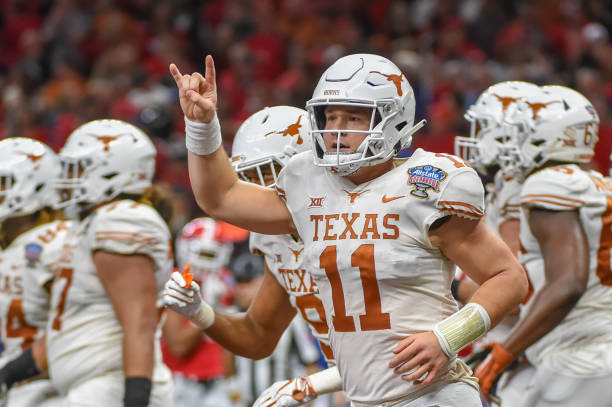 Sam Ehlinger by the numbers