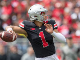 Justin Fields named the starter for Ohio State. He will make the first start of his career against the Florida Atlantic Owls.