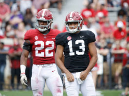 Projecting the offensive starters for Alabama in 2019