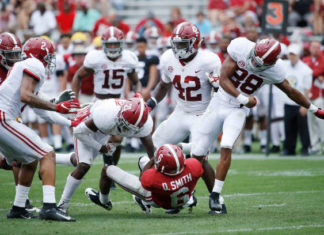 Head coach Nick Saban and defensive coordinator Pete Golding have a lot of players to consider before projecting Alabama's 2019 defensive starters.