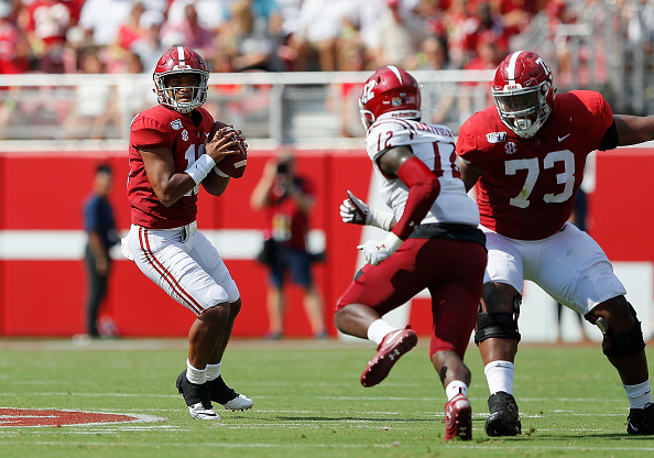 Alabama Dominates New Mexico State