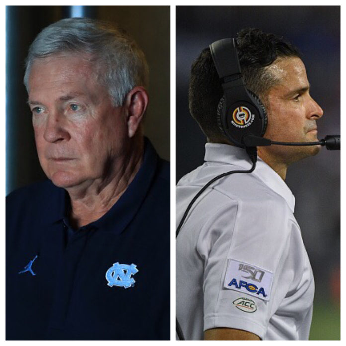 Mack Brown And Manny Diaz