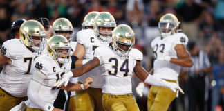 bye week blues for notre dame