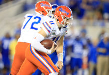 Backup QB Kyle Trask leads Florida