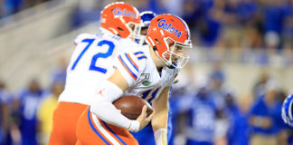 Backup QB Kyle Trask leads Florida