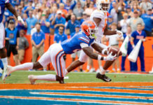The Florida Gators took care of business Saturday afternoon in the Swamp with a dominate performance of their hated rivals, the Tennessee Volunteers 34-3.
