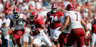 The No. 2 Alabama Crimson Tide are looking to get revenge from their loss from 2010 to South Carolina with perfection on both sides of the ball.