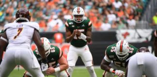 The Miami Hurricanes are still searching for consistency after barely beating Central Michigan. The performance has left everyone searching for answers.