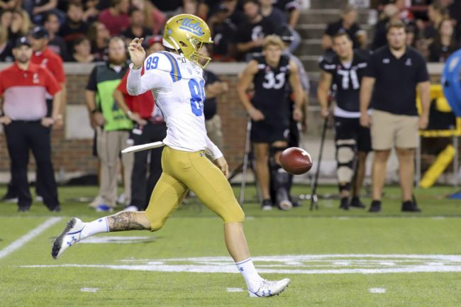 UCLA's Aussie Rules Kicking Game