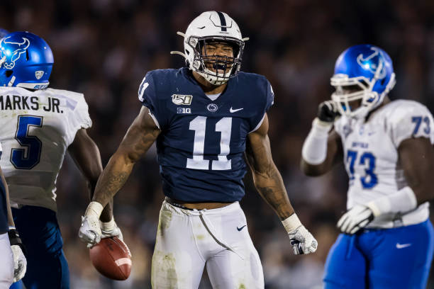 Micah Parsons returns to the Penn State defense this week against Purdue. The depth in the defense has shown strong through the first games of the season.