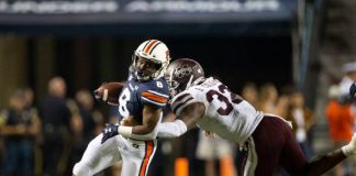 In the second half of the season, the Auburn Tigers will need another running back to step up in the absence of leading rushing JaTarvious Whitlow.