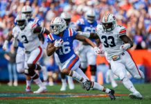 College GameDay will follow the Florida Gators to Baton Rouge, Louisiana as the Gators will play on the road against the LSU Tigers.