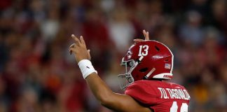 Alabama loses Tua Tagovailoa for a few games in a solid 35-13 victory over the Tennessee. The No. 1 Tide experienced roadblocks along the way to victory.
