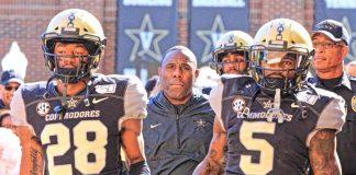 Vanderbilt Commodores Derek Mason SEC Football