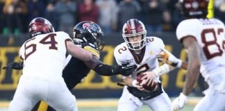 The unbeaten streak came to an end on Saturday at Kinnick Stadium. What went wrong for Minnesota as they fell to the Hawkeyes?