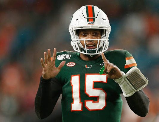 The Miami Hurricanes have momentum and are currently on a three game winning streak . They are looking to keep that mometum through their last two games.