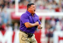 LSU's Ed Orgeron led his team to a long-awaited win over Alabama. Can he keep the Tigers focused on Ole Miss without being distracted by loftier goals?