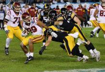 Iowa dominates USC
