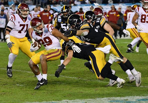 Iowa dominates USC Holiday Bowl