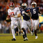 The #1 Alabama Crimson Tide will be looking for perfection and revenge as they face the #22 Auburn Tigers in the 85th Iron Bowl on Saturday