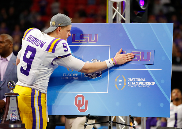 LSU Clinches Their Spot in National Championship