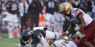 Cincinnati Blasts Boston College